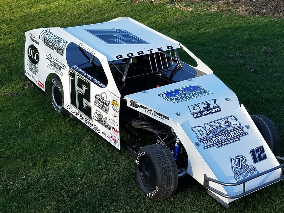 Image Of Imca Race Car Chassis BB Racing Chassis IMCA Modified SS